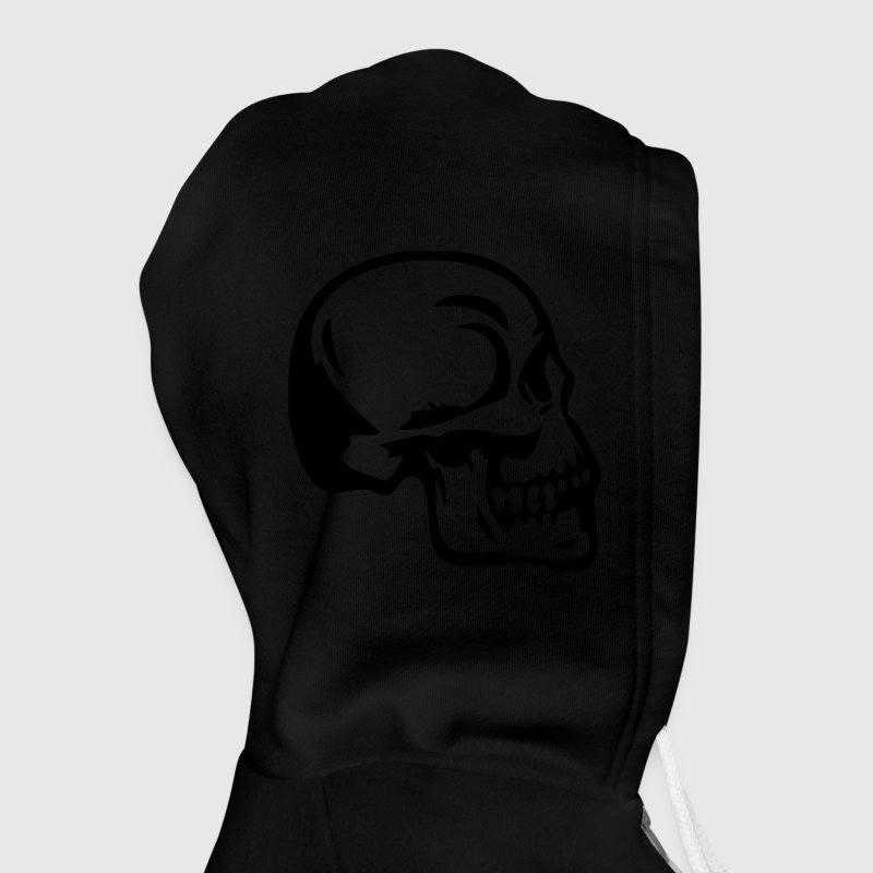 Skeleton Torso Halloween Costume Zipper Hoodie - Unisex Fleece Zip Hoodie by American Apparel