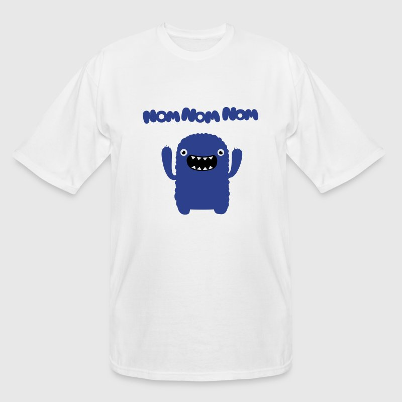 Om nom nom nom T-Shirts - Men's Tall T-Shirt