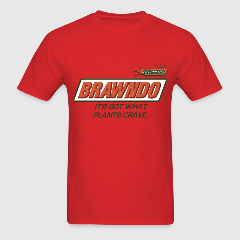 Brawndo - Men's T-Shirt