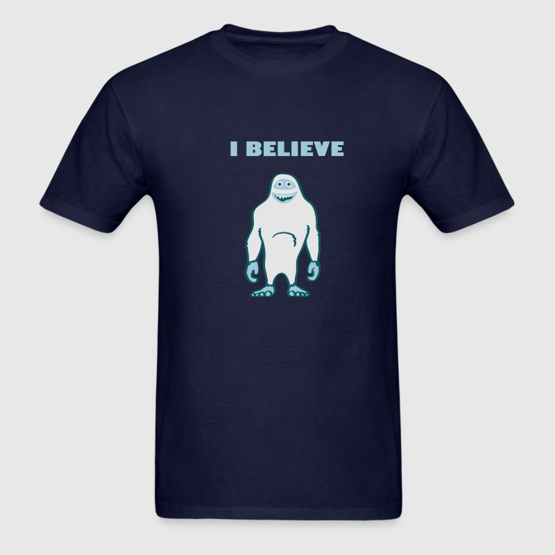 Yeti shirt: I believe - Men's T-Shirt