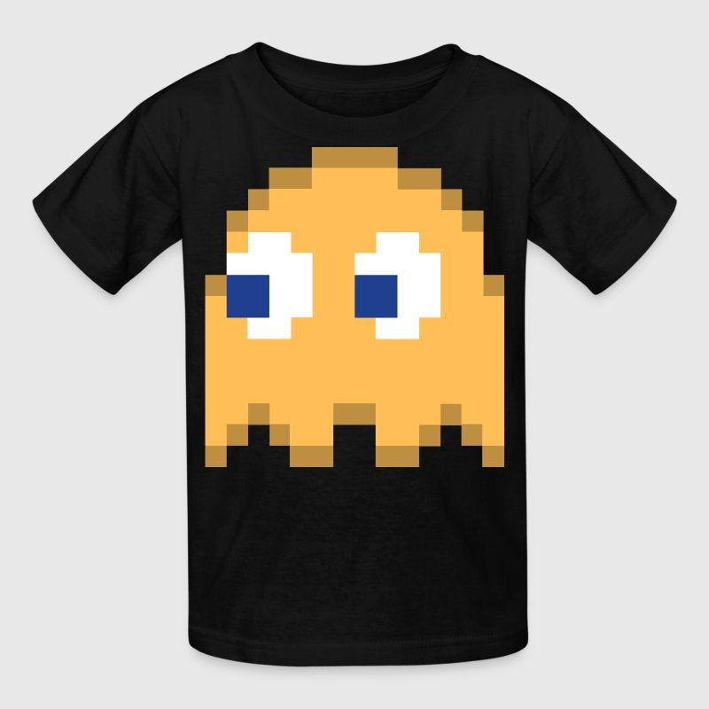 Clyde Pacman Ghost Easy Costume 3 of 4 Kids' Shirts - Kids' T-Shirt