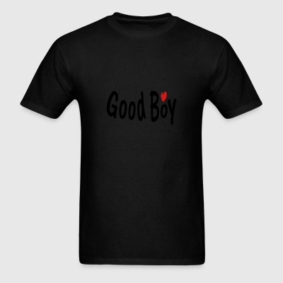Good boy txt heart vector art Dog Bandana - Men's T-Shirt
