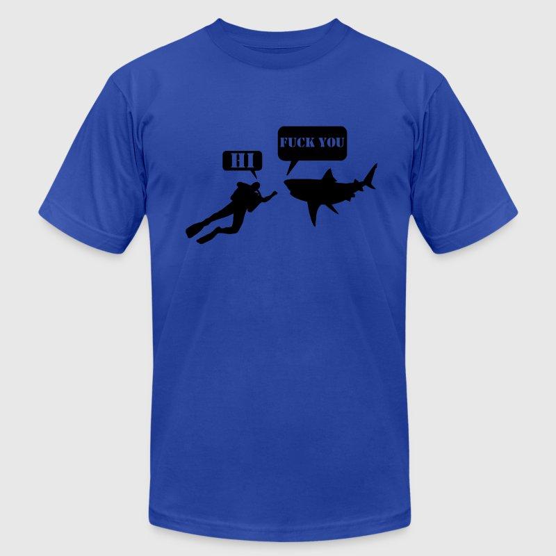 Hi, Hai / Fuck You Comic T-Shirt | Spreadshirt