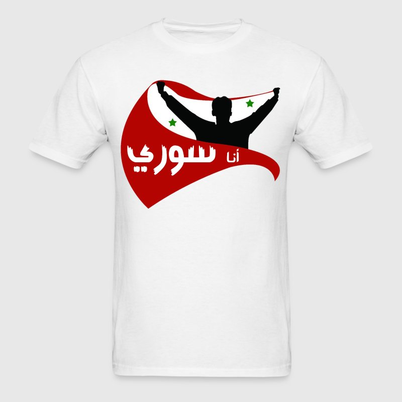 I am Syrian T-Shirts - Men's T-Shirt