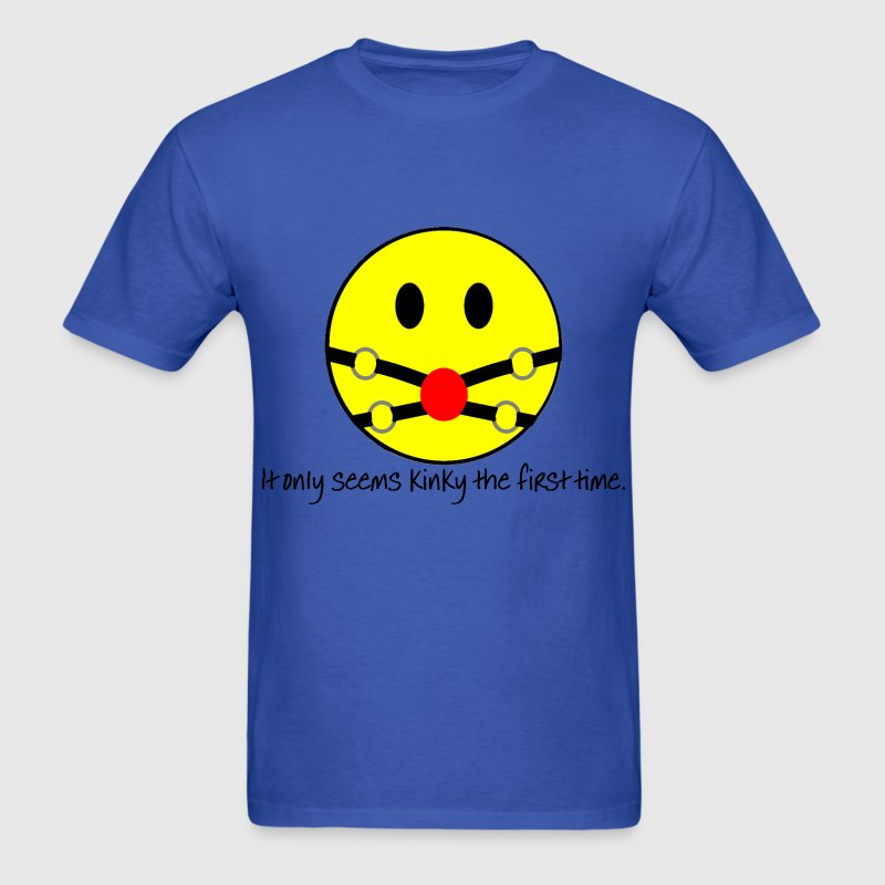 Smiley Gag T-Shirts - Men's T-Shirt
