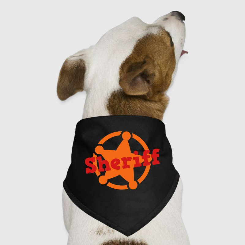 sheriff badge cute Dog T-Shirts - Dog Bandana