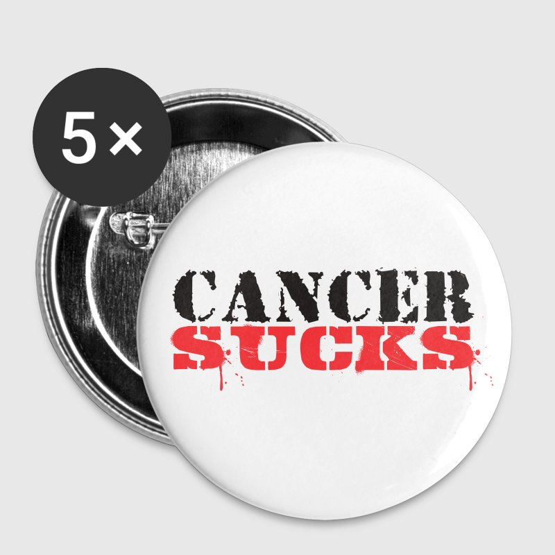Cancer Sucks - Large Buttons