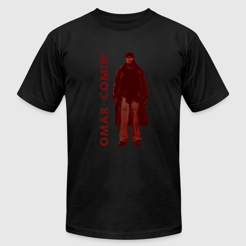omar coming red - Men's Fine Jersey T-Shirt