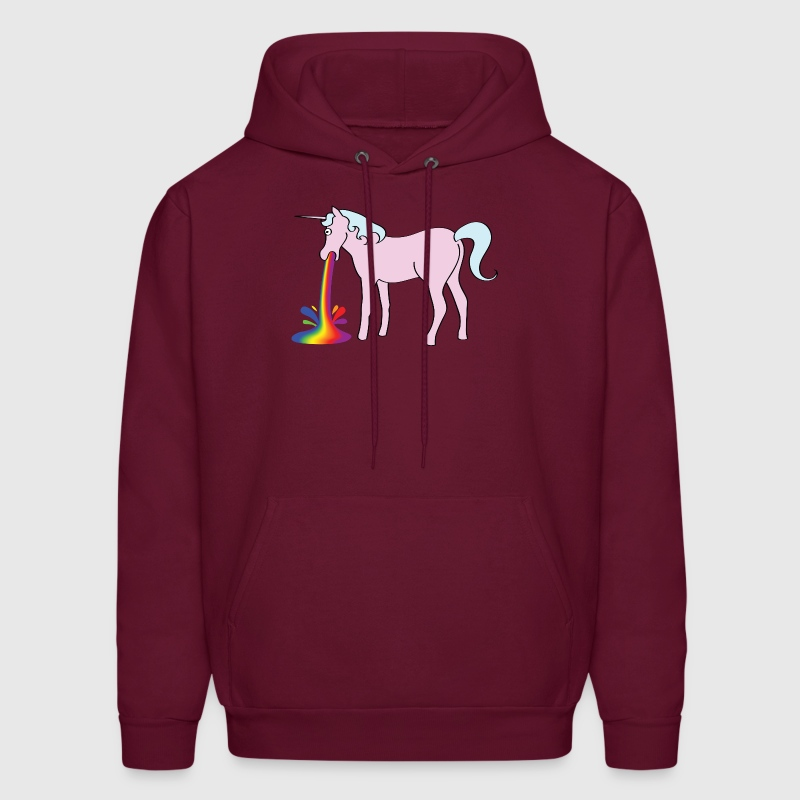 Inappropriate Unicorn Hoodies - Men's Hoodie