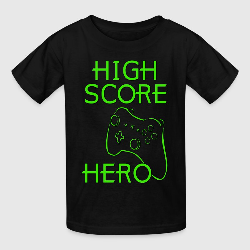 High Score Hero XBox Kids' Shirts - Kids' T-Shirt