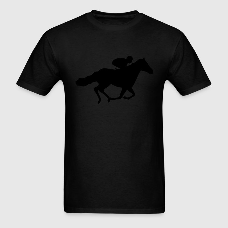 Race Horse T-Shirts - Men's T-Shirt