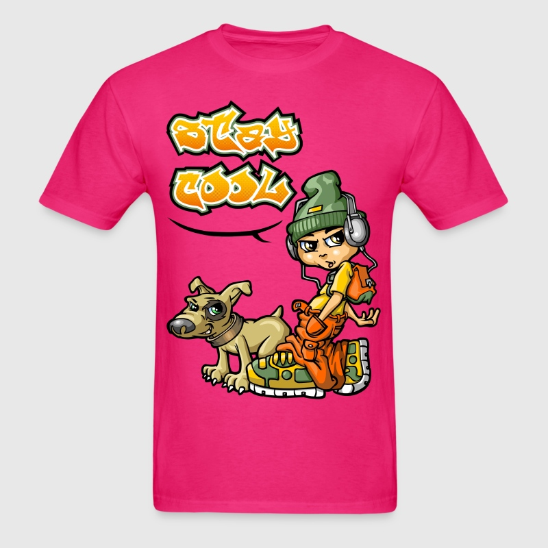 Stay cool T-Shirt   Spreadshirt