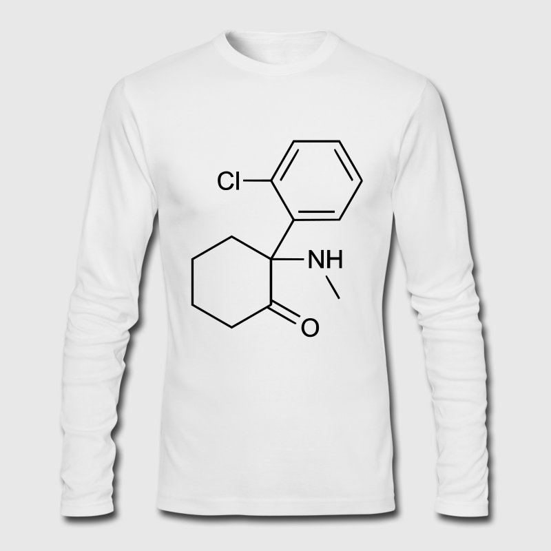 ketamine  Long Sleeve Shirts - Men's Long Sleeve T-Shirt by Next Level