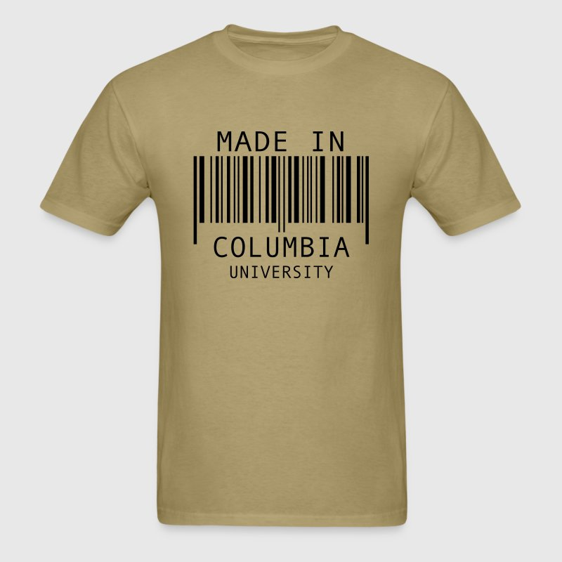 Made in Columbia University T-Shirts - Men's T-Shirt