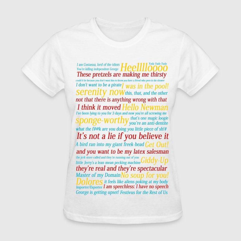 Seinfeld References - Women's T-Shirt