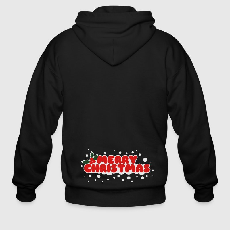 Merry Christmas Zip Hoodies/Jackets - Men's Zip Hoodie
