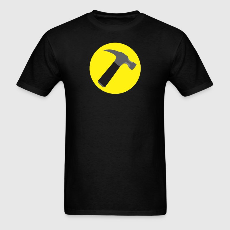 Captain Hammer v1 Raster - Men's T-Shirt