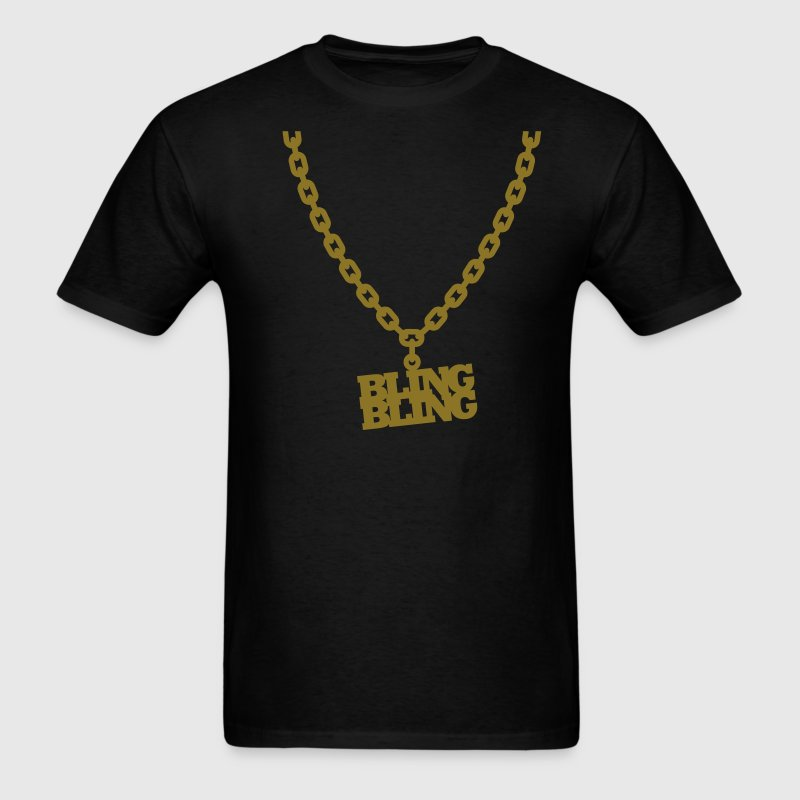 Bling Bling T-Shirts - Men's T-Shirt