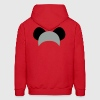 koala bear ears hat Hoodies - Men's Hoodie