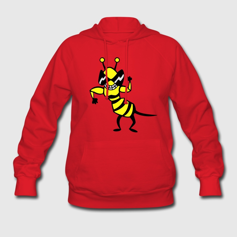 cool bee - wasp Hoodies - Women's Hoodie