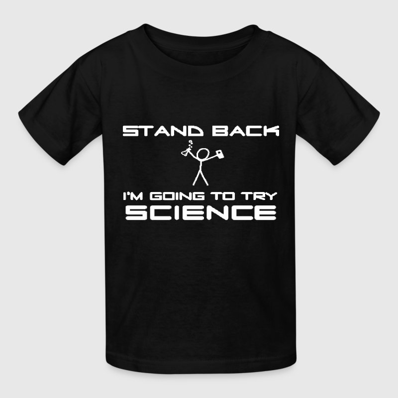 Try Science - Kids' T-Shirt