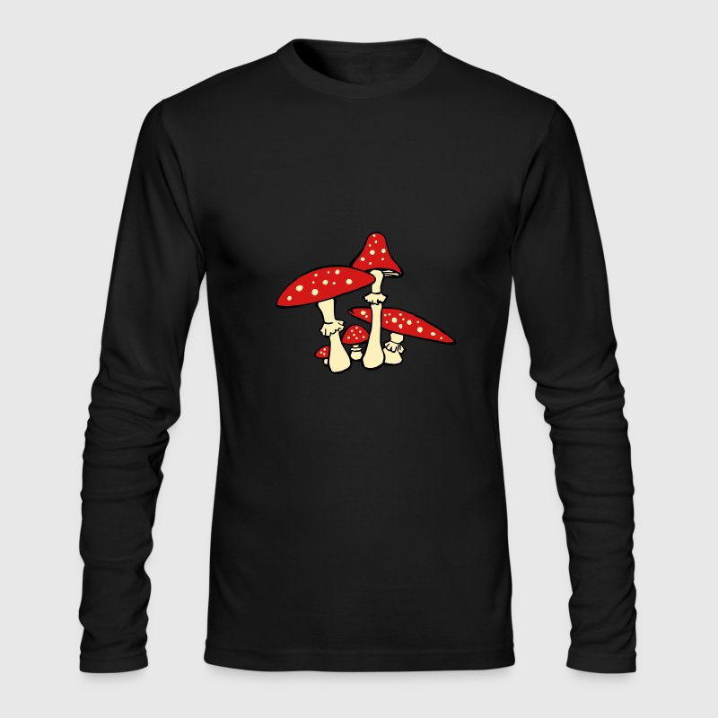 Amanita muscaria Long Sleeve Shirts - Men's Long Sleeve T-Shirt by Next Level