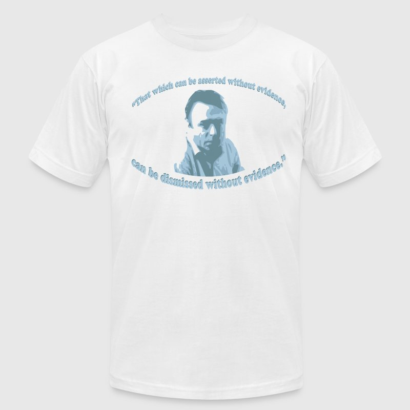 Christopher Hitchens quote - Men's Fine Jersey T-Shirt