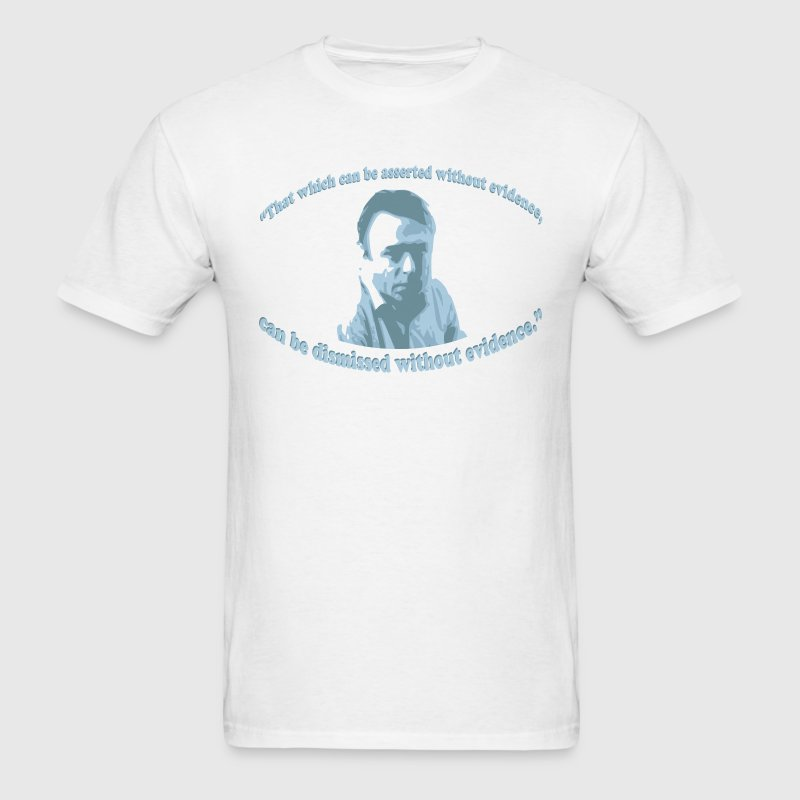 Christopher Hitchens quote - Men's T-Shirt