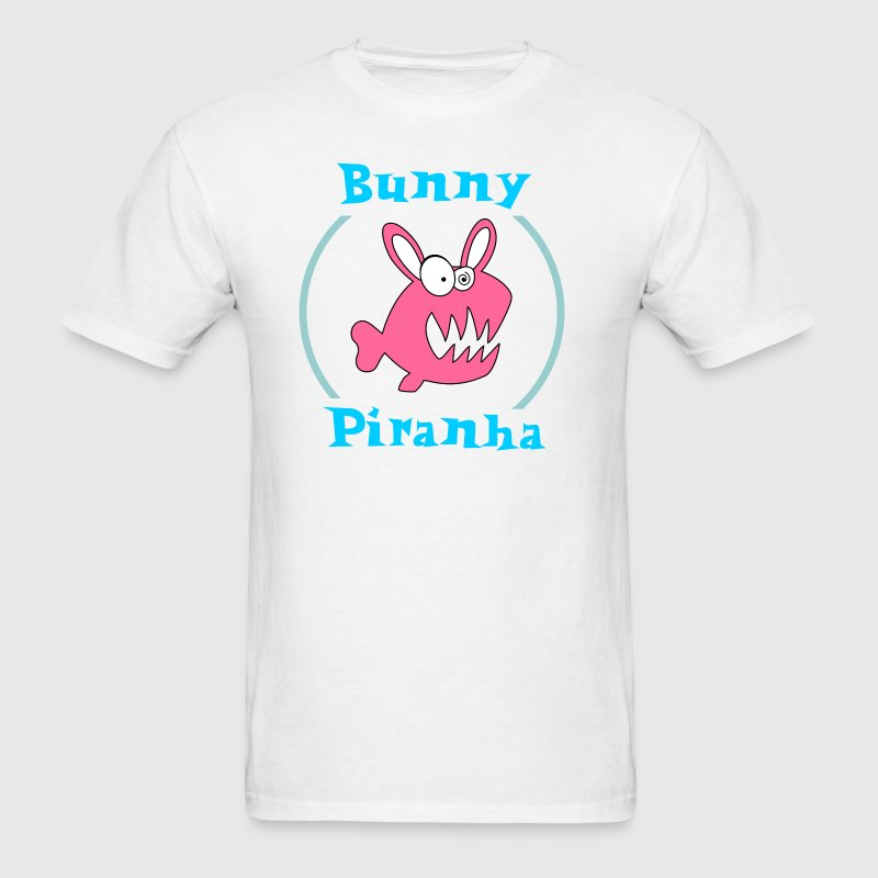 Bunny Piranha T-Shirts - Men's T-Shirt