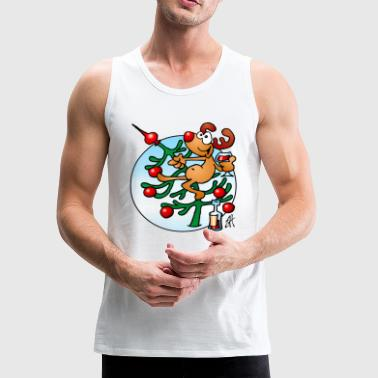 Rudolph the Red Nosed Reindeer - Men's Premium Tank