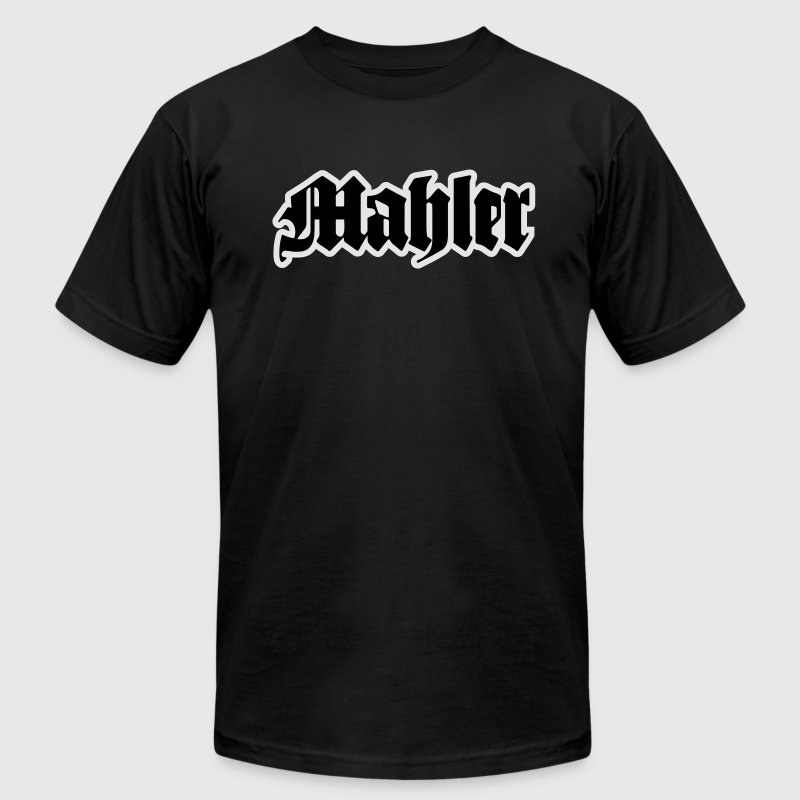mahler T-Shirts - Men's T-Shirt by American Apparel