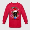 Wonderful Christmas Boxer Dog - Kids' Long Sleeve T-Shirt