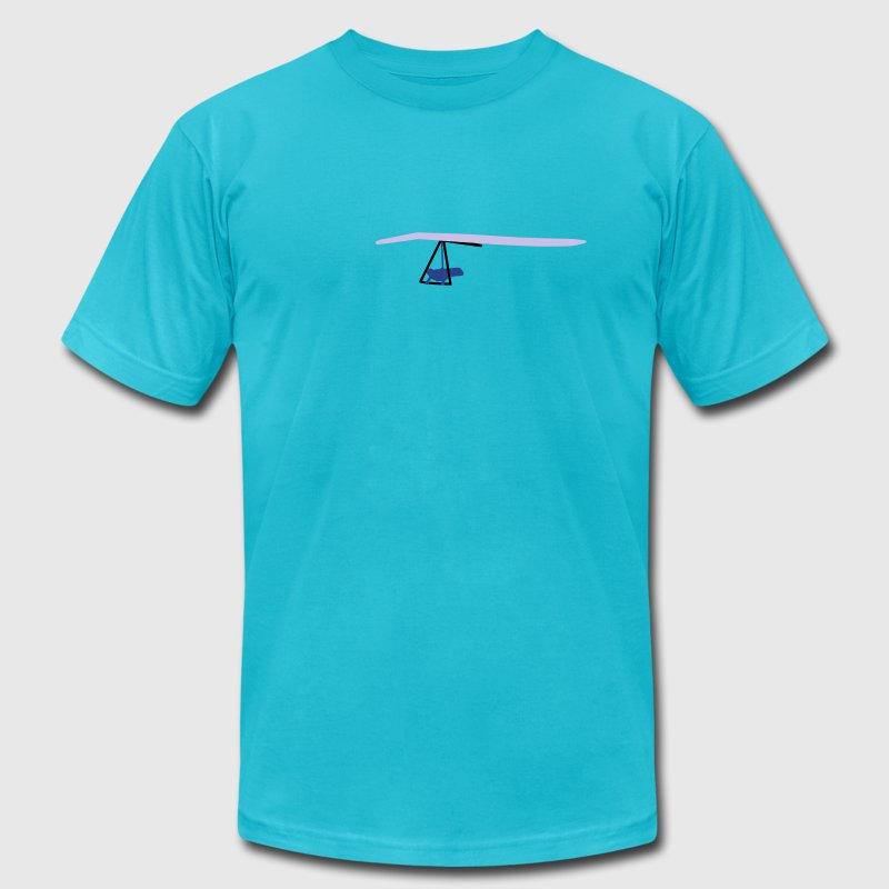 Hanggliding T-Shirts - Men's T-Shirt by American Apparel
