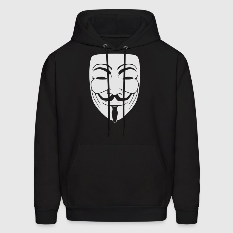 Anonymous Guy Fawks Mask  _v1 1_Color - Men's Hoodie