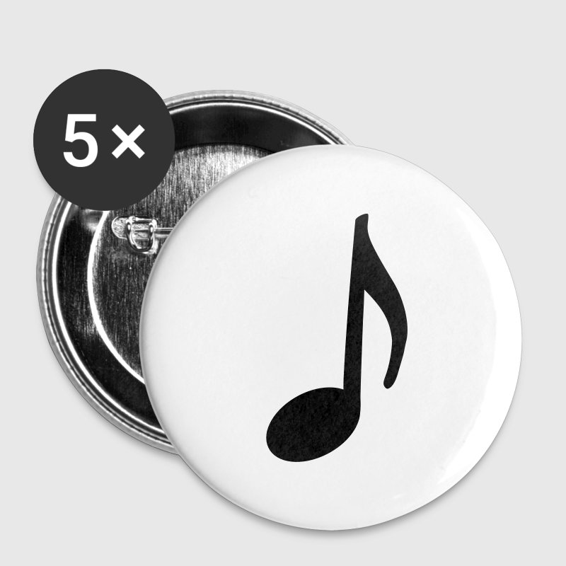 Music Note Button (Large) - Large Buttons