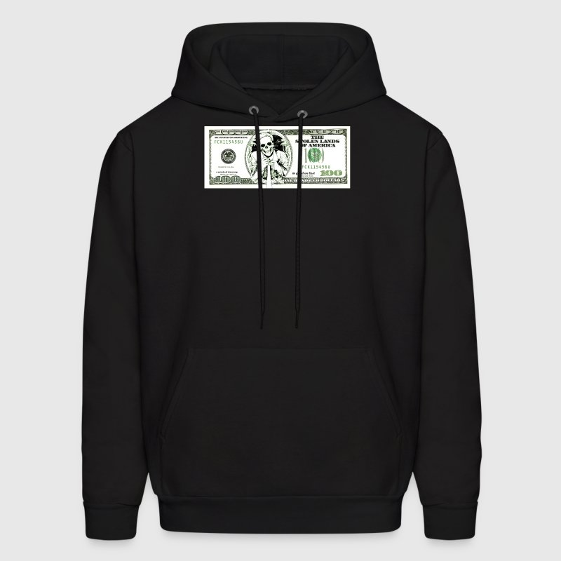 sarcastic 100 dollars bill Hoodies - Men's Hoodie