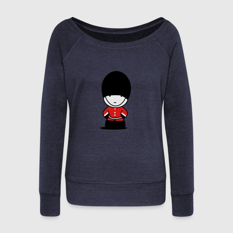 A Royal Guard in London Long Sleeve Shirts - Women's Wideneck Sweatshirt
