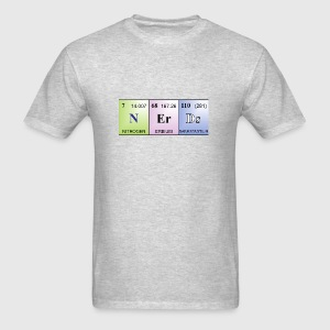 Nerds periodic table of elements words t shirt spreadshirt mens t shirt urtaz Image collections