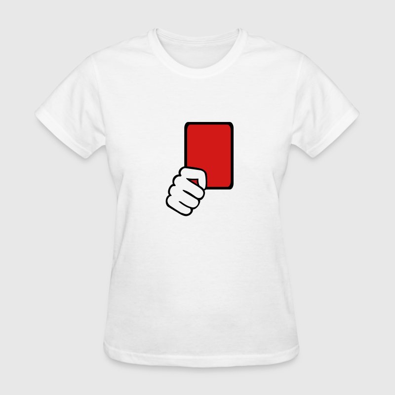 Red card Referee Women's T-Shirts - Women's T-Shirt
