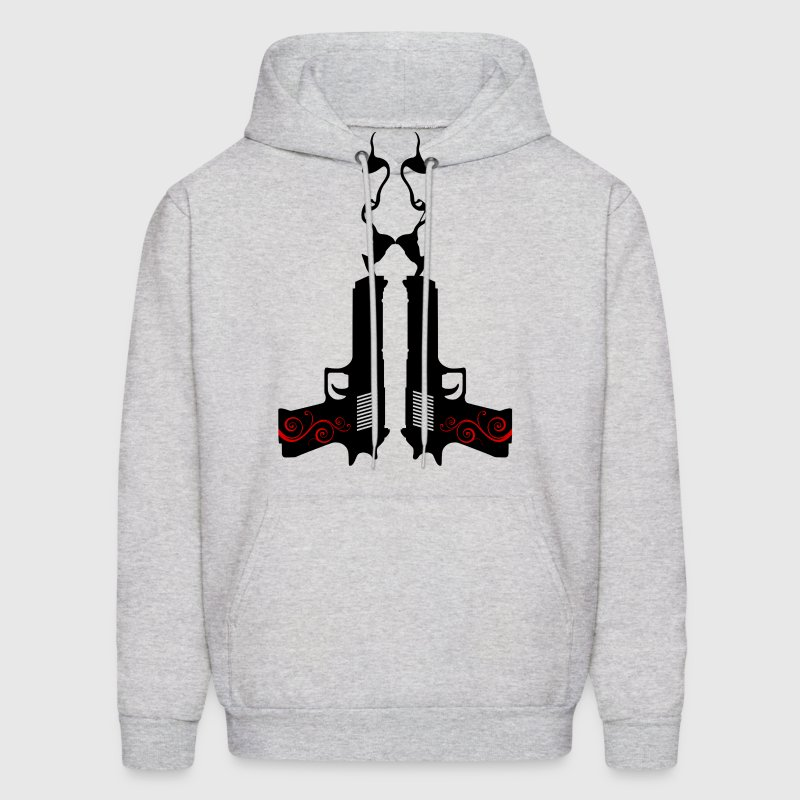 Desert Eagle - Twin Guns Hoodies - Men's Hoodie