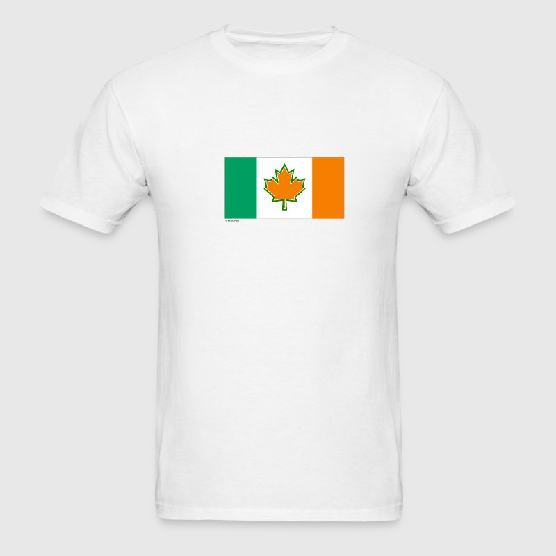 White canada ireland T-Shirts - Men's T-Shirt