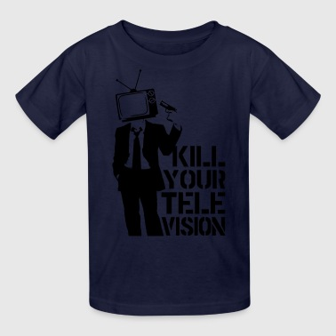 Kill Your Television VECTOR T-Shirts - Kids' T-Shirt