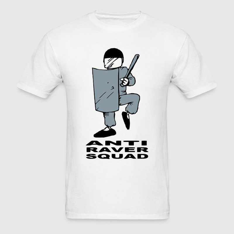 Police Anti Raver Squad T-shirt - Men's T-Shirt