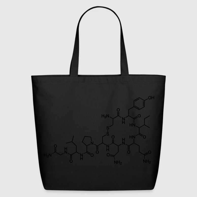 Oxytocin Molecule of Sex, Love, Orgasms Bags  - Eco-Friendly Cotton Tote