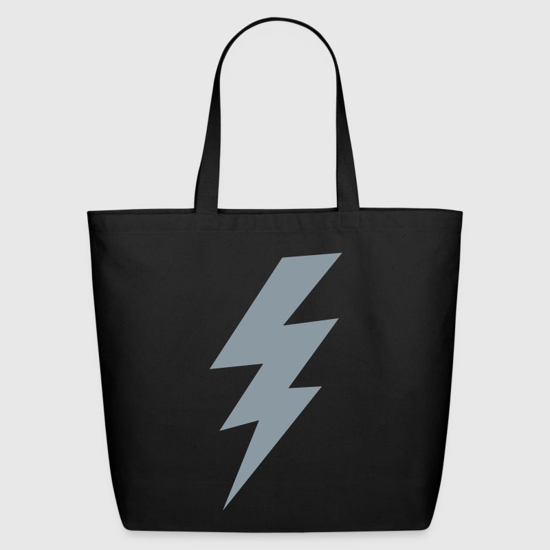 thunder lightning bolt flash Bags  - Eco-Friendly Cotton Tote