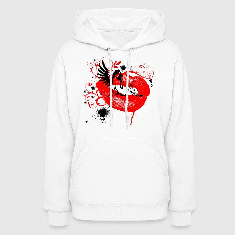 A Lippy Lady Graphic - Unisex - Women's Hoodie