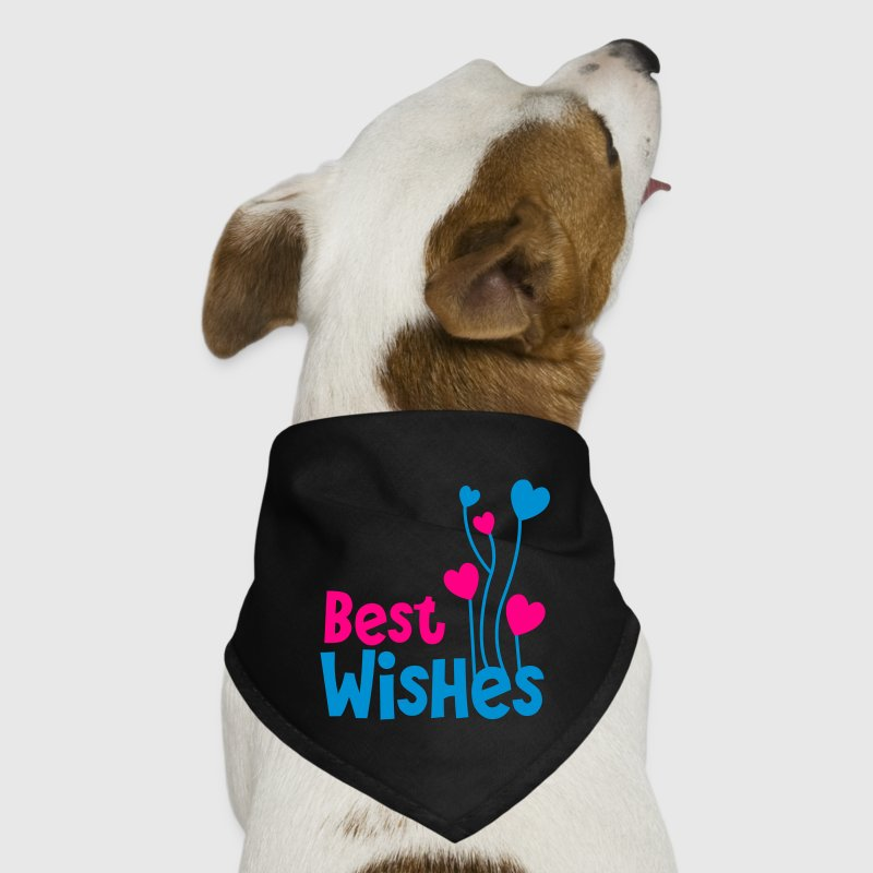best wishes birthday image with balloons Dog T-Shirts - Dog Bandana