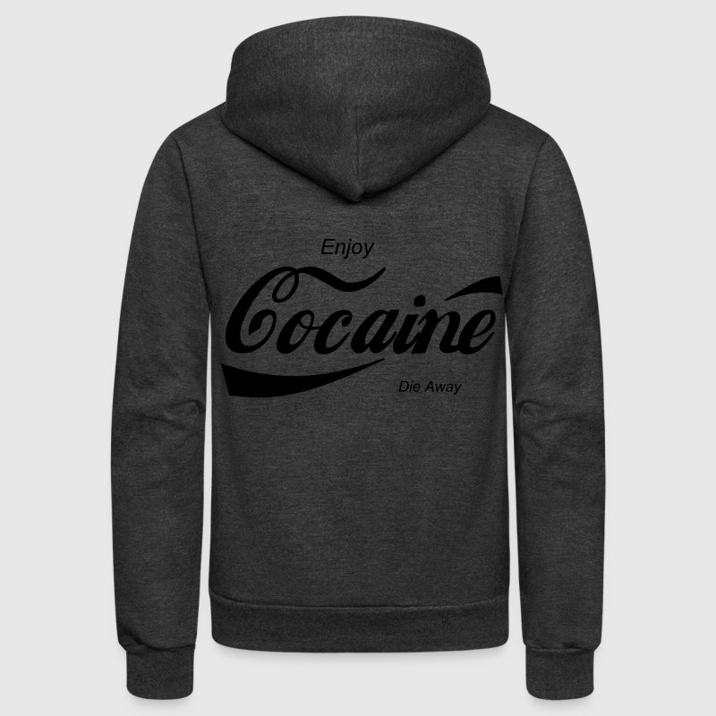 enjoy cocaine Zip Hoodies/Jackets - Unisex Fleece Zip Hoodie
