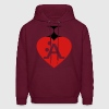 I Love A-Style - Men's Hoodie