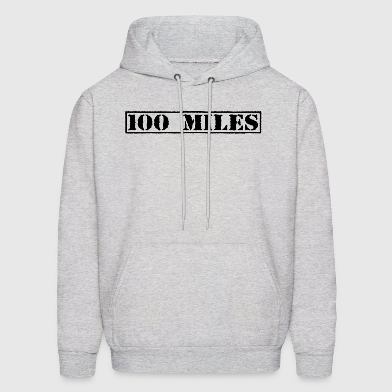 Top Secret 100 Miles Hoodies - Men's Hoodie